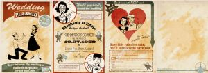 Bioshock Wedding Invitation by MarionetteDolly