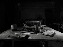 The writer by xNatje