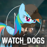 [MLP Icon] Watch_Dogs by pavelgun93