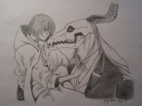 Chise and Ellias by Timelady93