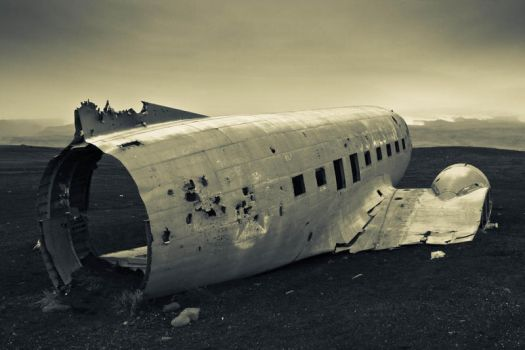 Plane Wreck by cwaddell