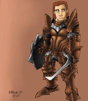 Troy, MH's comic concept art by AMBONE105