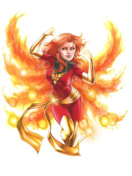 Dark Phoenix by Dangerous-Beauty778