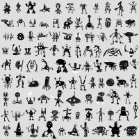 100 Robots by BenZiegler
