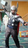 The Mighty Thor at Long Beach Comic Con 2013 by trivto
