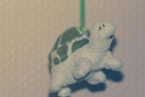 Turtle in the air by PoetBanana
