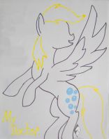 Derpy Hooves Marker by Wolf--Shadow