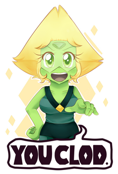 YOU CLOD! by Lucy-tan
