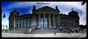 Reichstag Pano by Graphica