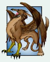 Gryphon for Sleyf by singham-wilk
