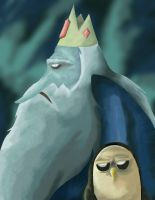 ice king and gunter by meok