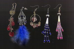 Earrings by BloodRed-Orchid