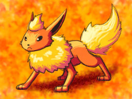 Warm Flareon by H-S