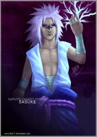 Naruto fanart: Sasuke version2 by thei11
