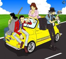 Lupin on 500 by farstar09