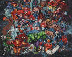 Marvel Heroes 1995 by ACOMO