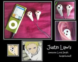 Justin Law's Death Headphones by The-Tenshi-Store