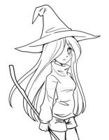 Witch Doodle by YamPuff