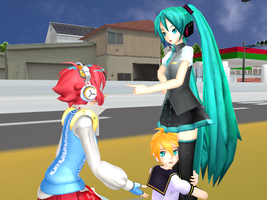MMD Miku Save ME by JetBlue238