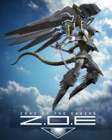 Sky Zone Of The Enders by bllyang