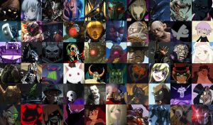 Top 60 Favorite Villains by Makuta52