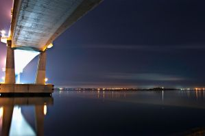 Mactan Bridge by razzman038