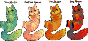 Double Maned Adaxelels ADOPT by FrizzChanAdopts