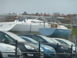 Cars and Boats Whitby Harbour Whitby by illusiveexistence