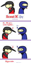 Scout N' Spy 1 Intro by ROUGEXSHADOW1112