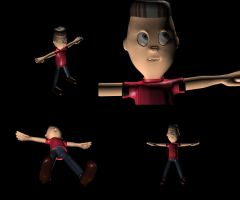 Character 3d by alecalcano