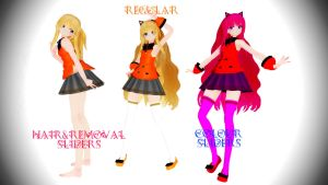 MMD TDA SeeU Update (Replaced) by Yufuchi