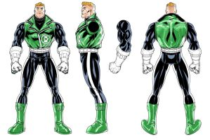 Green Lantern toy turns! Guy Gardner GREEN LANTERN by jpm1023