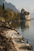 Chillon Chateau by DooMourneR