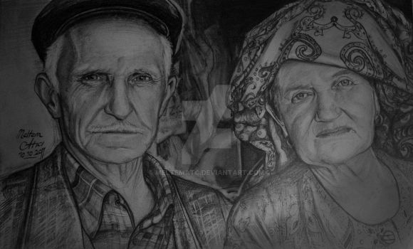grand father and mother by meltematc