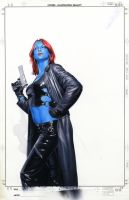 Mystique 24 Cover Painting by mikemayhew