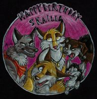 Happy Birthday Skailla! by ARVEN92