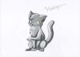 Hollypaw medicine Cat appr. by TwilightTheEevee