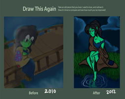 Draw it Again Contest by Doodlinjaz