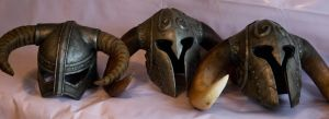 Skyrim Helmets by kwalsh000