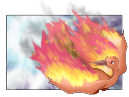 :Rise of the Firebird: Moltres by endless-whispers