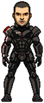 Mass Effect 3 Shepard by JohnnyMuffintop