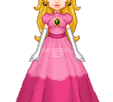 Princess Peach SMB by General-Guy