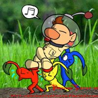 How Olimar gets around by BrokenTeapot