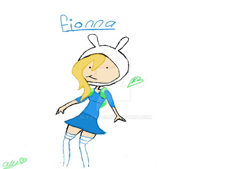 Fionna-Adventure Time by Aly-Cat-23
