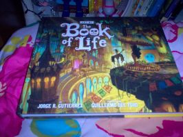 Got my Book of Life Artbook by FairyGal11