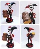 Harley quinn figure by Pipi-Poyo