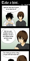 Death Note: Take a hint. by mayanna