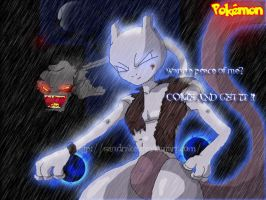 .:wanne peace of mewtwo?:. by sandrake