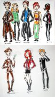 The Doctors and his companions by dances-with-hipsters