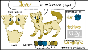 Clover Ref by candytoy52